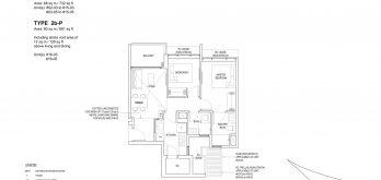Bartley-Vue-Floor Plan-2-bedroom-premium-type-2b
