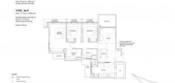 Bartley-Vue-Floor Plan-3-bedroom-premium-type-3b