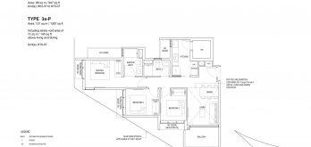 Bartley-Vue-Floor Plan-3-bedroom-type-3a